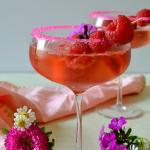 Zodiac Cocktails - Taurus: Sparkling Champagne Sorbet Floats