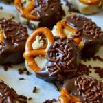 Cookie Dough Pretzel Bites