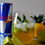 Zodiac Cocktails - Sagittarius: Red Bull Piña Cocojito