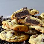 Brownie-Stuffed Chocolate Chip Cookies