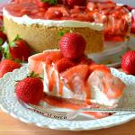 Best Ever No-Bake Strawberry Cheesecake
