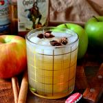Spiced Rum Apple Cider Cocktail