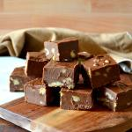 Best Ever Chocolate Walnut Fudge