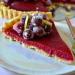 Cranberry Lemon Tart