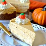Best Ever No-Bake Pumpkin Cheesecake