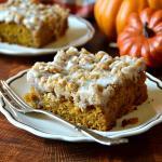 Grandma's Pumpkin Spice Coffee Cake