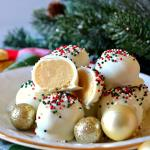 Christmas Sugar Cookie Truffles