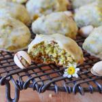 Pistachio Lemon Snowball Cookies