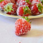 Drunken Rosé Strawberries