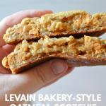 Levain Bakery-Style Oatmeal Scotchie Cookies