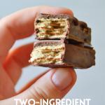 Two Ingredient Homemade Kit-Kats