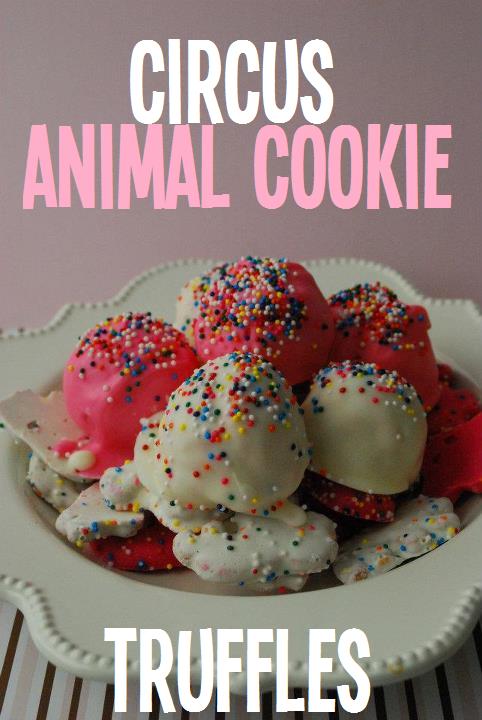 circus animal cookie truffles