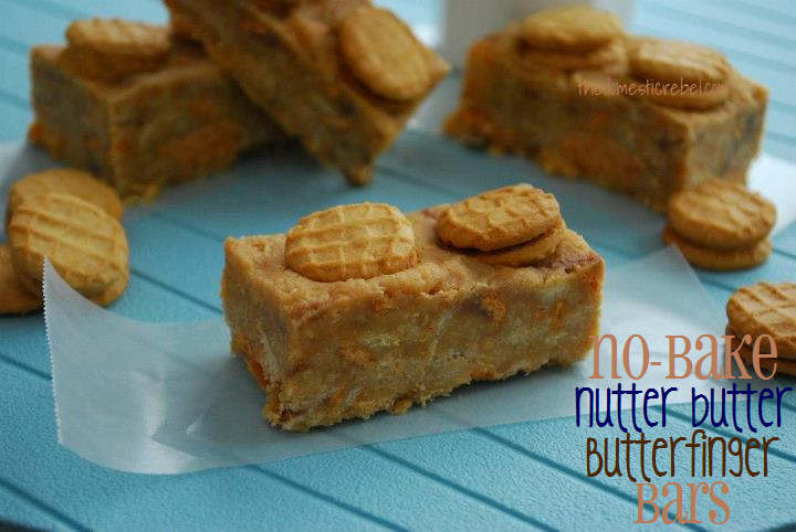 ... cookies ground together with crispy Butterfinger candies makes for an
