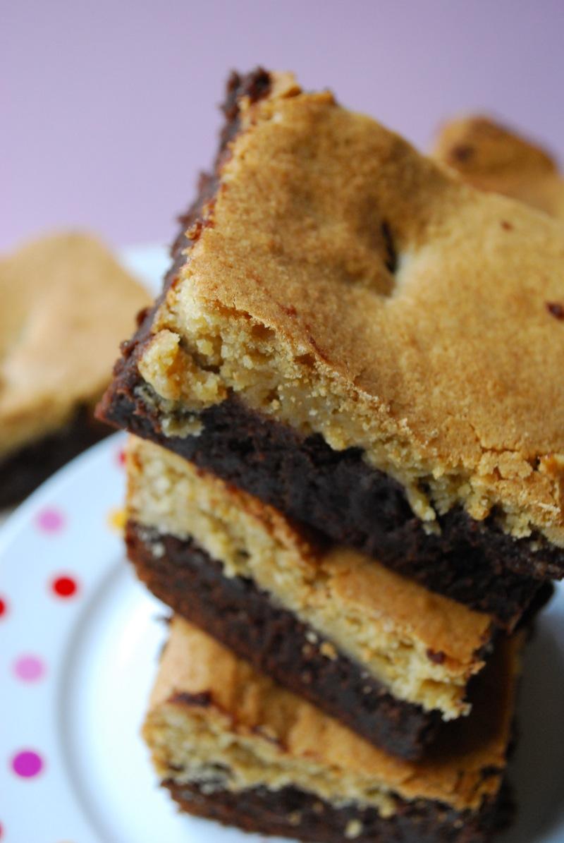 Blondie Covered Brownies The Domestic Rebel