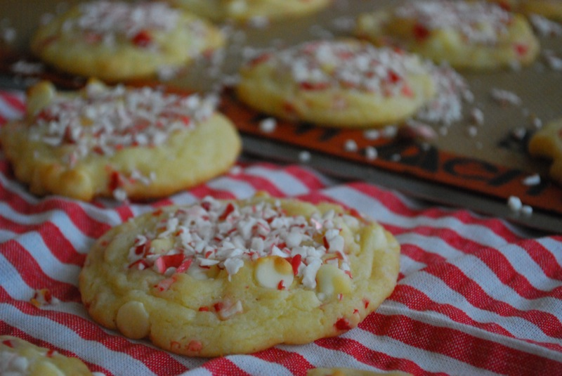 White Chocolate Peppermint Cookies The Domestic Rebel