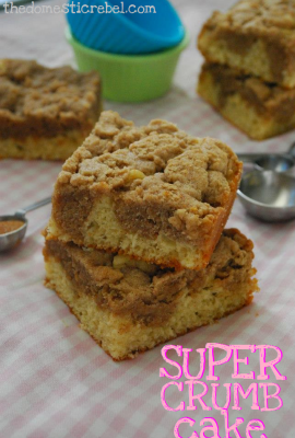 Super Crumb Cake