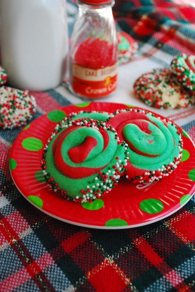 Cookies swirly cookie idea from make bake celebrate and sugar cookie