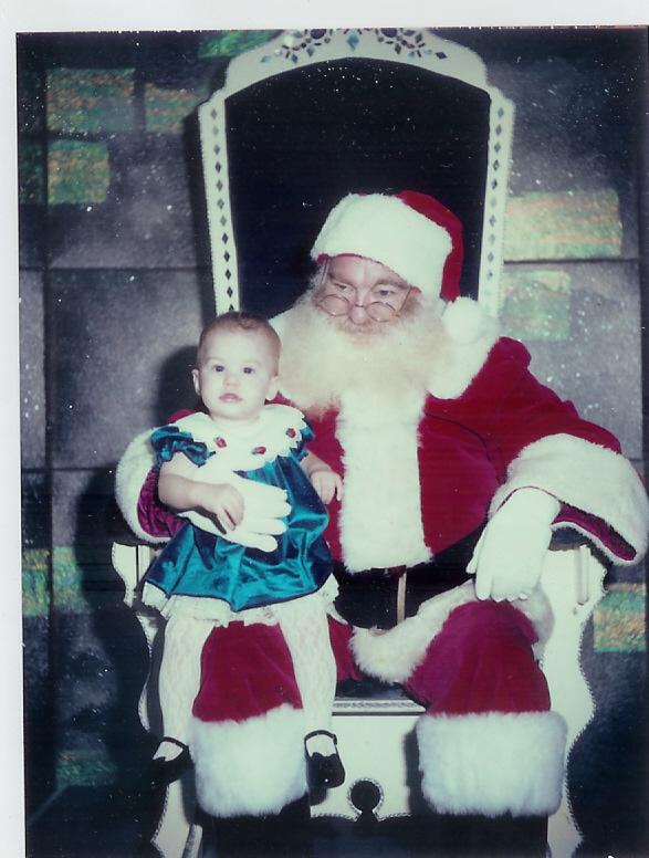 hayley and santa
