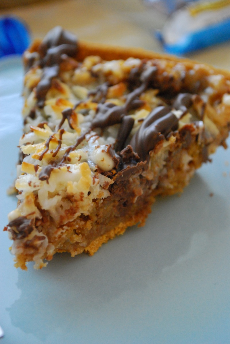 Almond Joy Magic Pie For Pi Day The Domestic Rebel