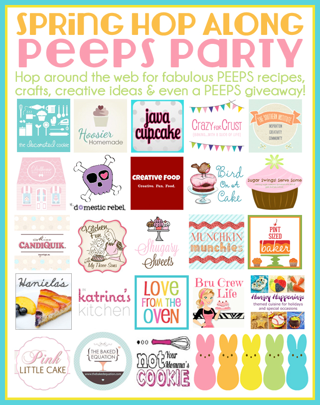PEEPS Easter Ideas peeps party banner