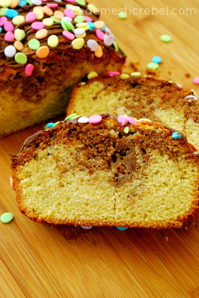 Free Nutella Swirl Pound Cake *adapted from the Gluten Free Pound Cake ...
