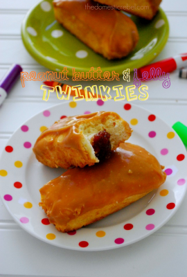 Peanut Butter & Jelly Twinkies