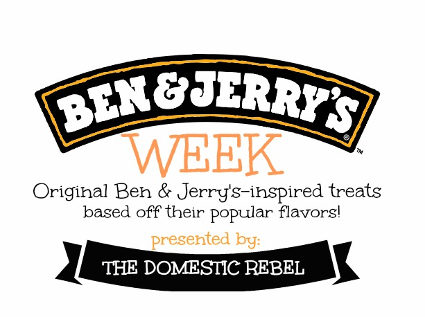 ben and jerry's week brand mark banner logo