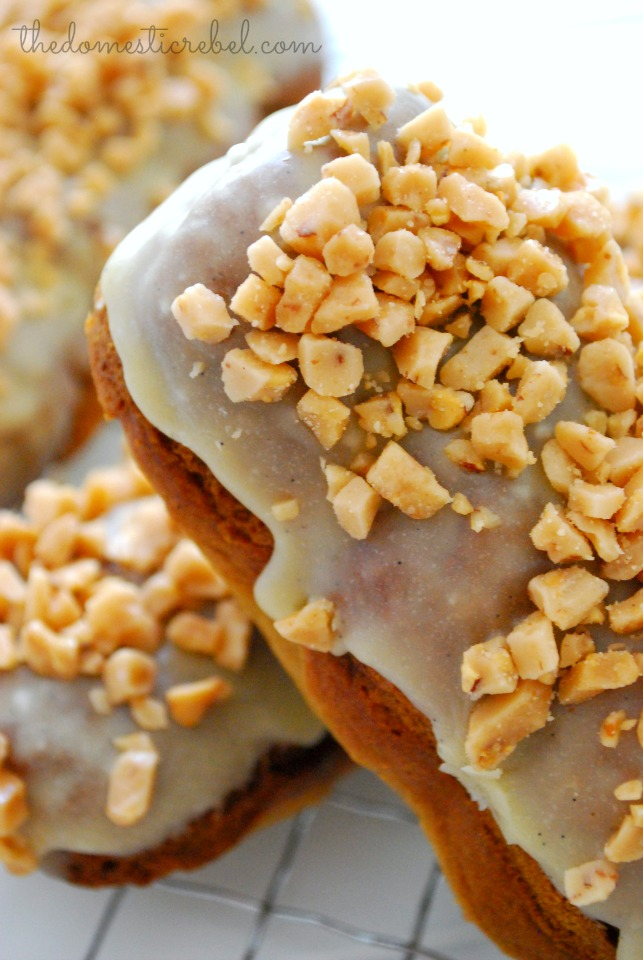 coffee caramel buzz donuts