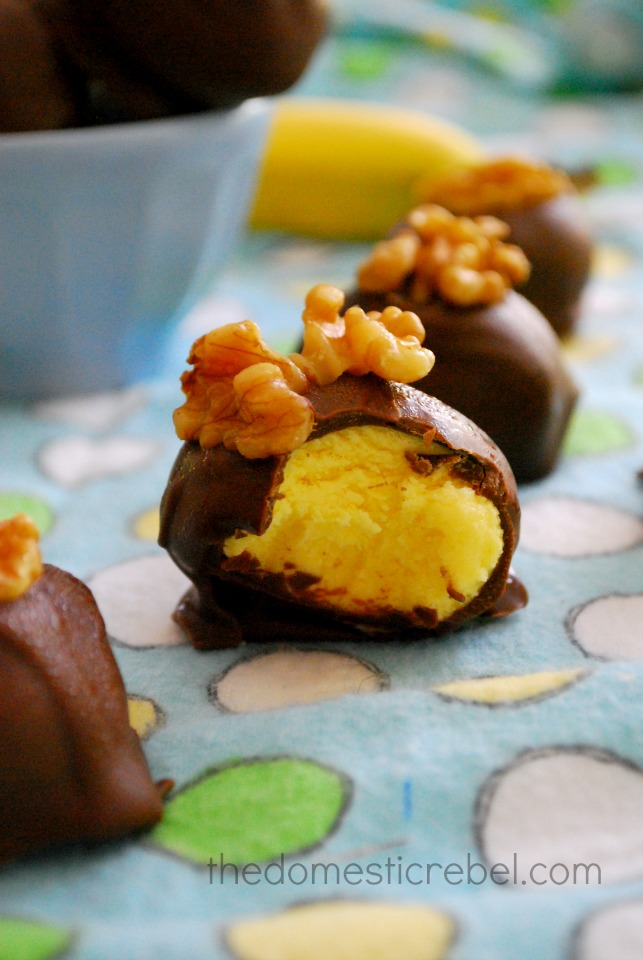 chunky monkey truffles