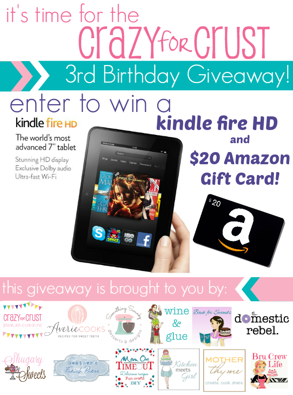 birthday kindle giveaway