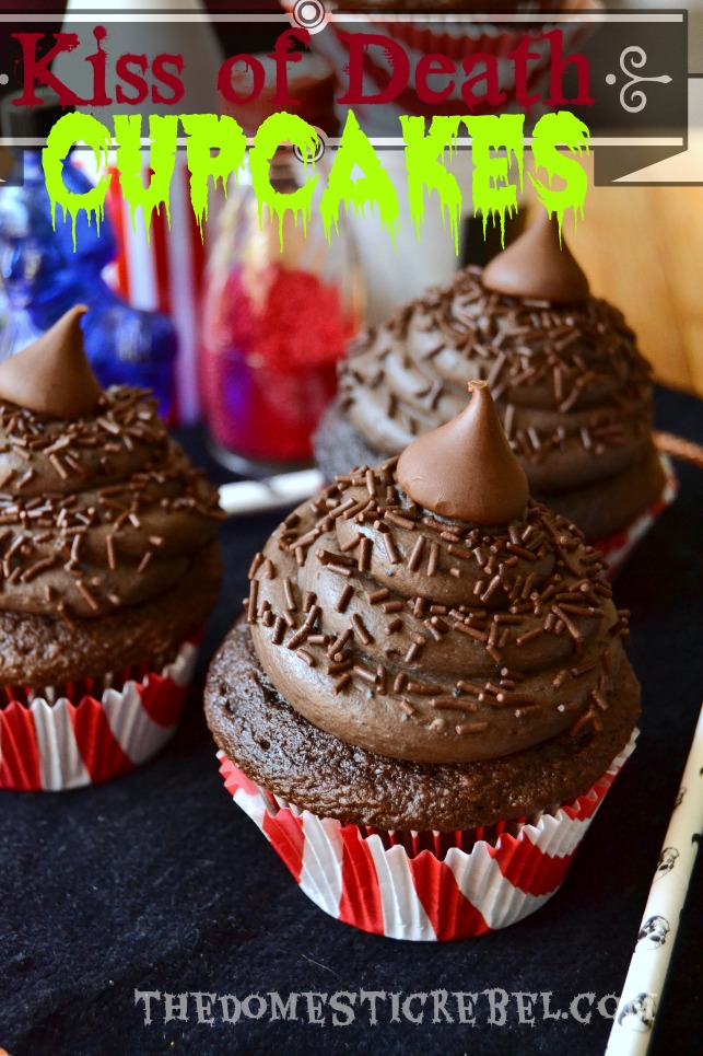 kiss of death super chocolaty cupcakes
