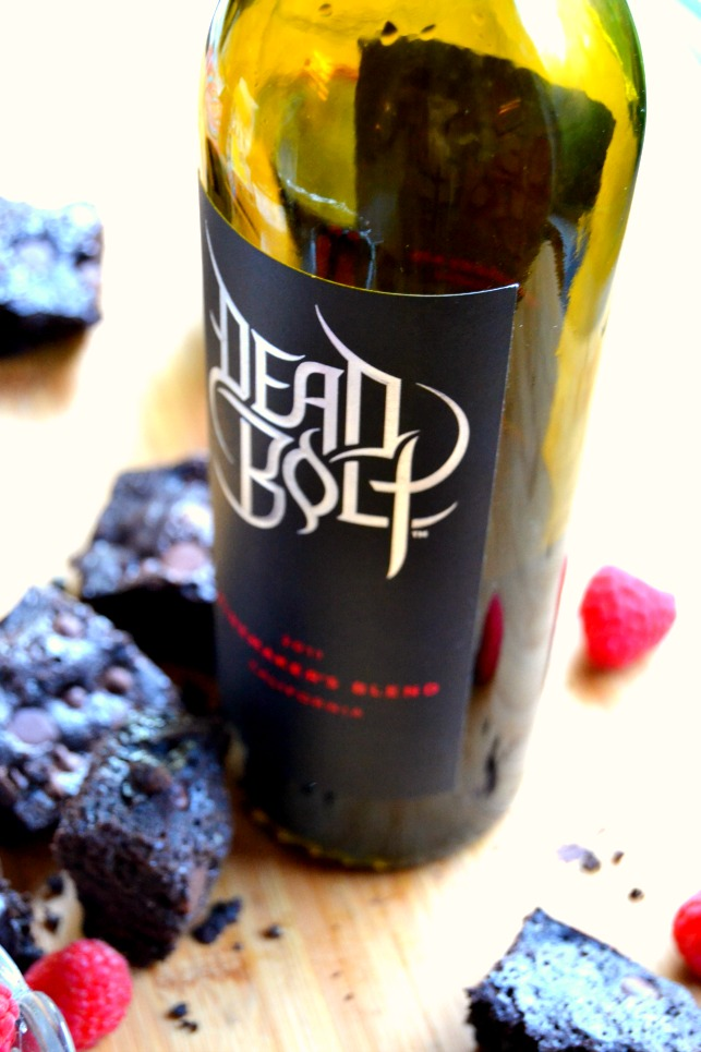 Dark Chocolate Red Wine Brownies [[Deadbolt Winery]] | The Domestic ...