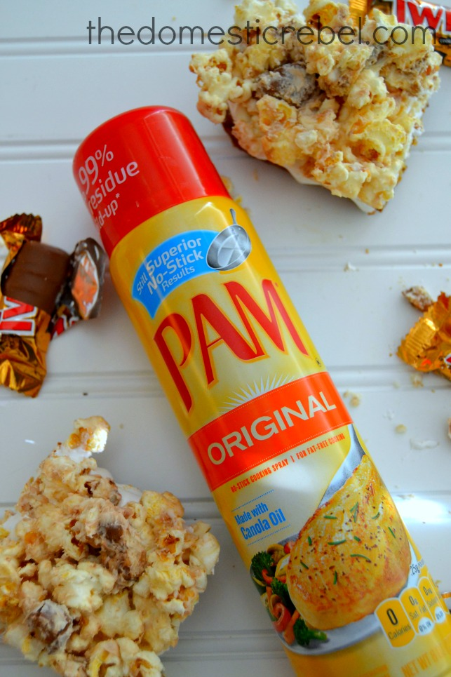 photo of pam cooking spray