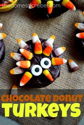 Chocolate Donut Turkeys