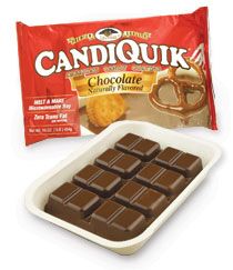 photo of candiquik packaging brand mark