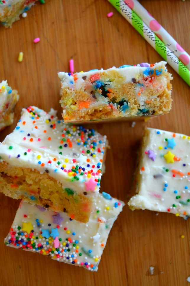 softest sugar cookie bars