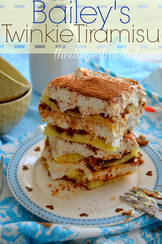 Bailey's Twinkie Tiramisu | The Domestic Rebel