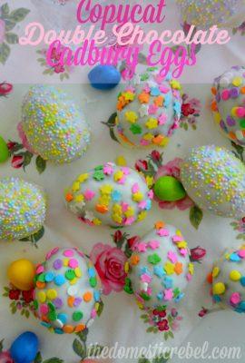 Copycat Double Chocolate Cadbury Eggs {Bonus: They're Gluten-Free!}
