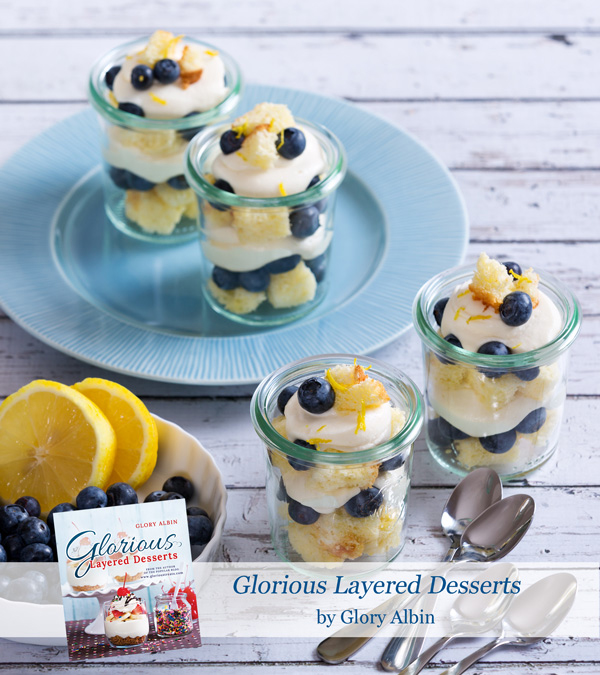 Lemon-blueberry-trifle