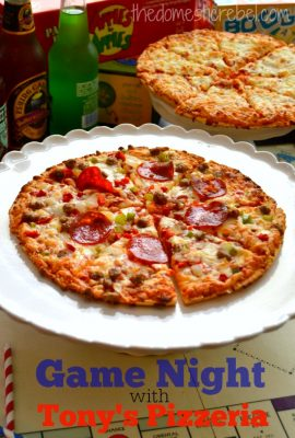 Host a Game Night with Tony's Pizza!