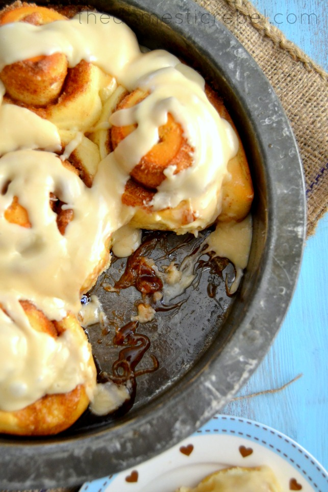 best one hour cinnamon rolls