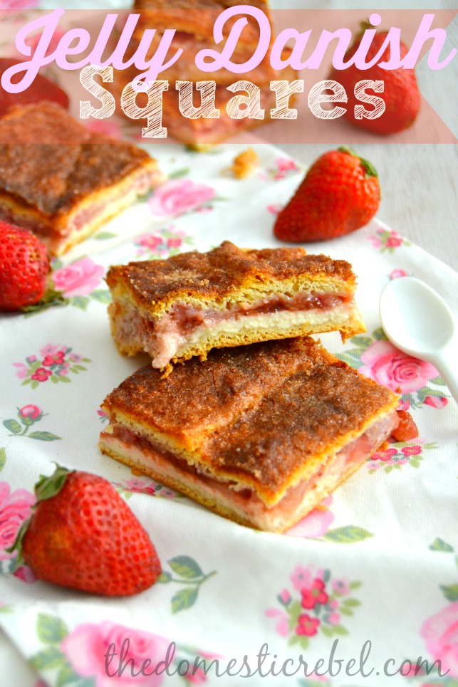 jelly danish squares