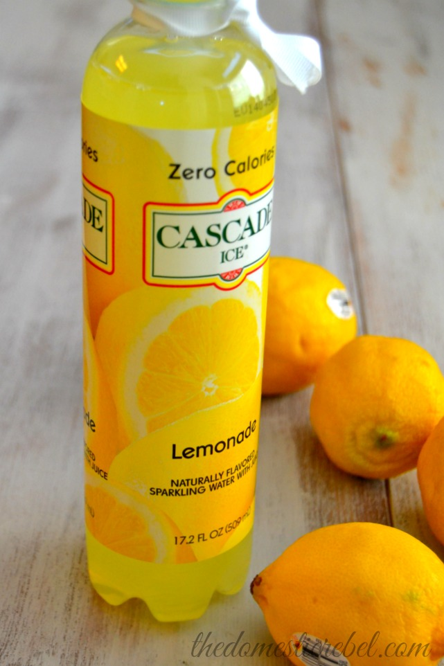 Sherbet Lemonade Fizz {And A Cascade Ice Giveaway!!}