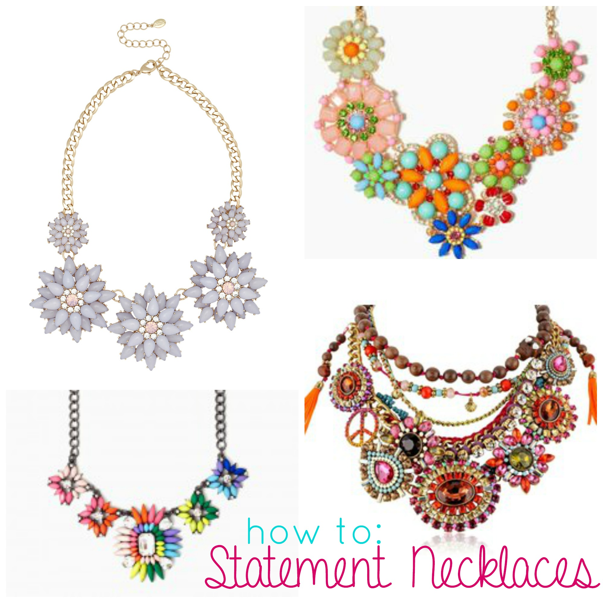 simple necklaces necklace statement necklacesstatement check pin necklacebeaded sur and