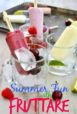Summer Fun With Fruttare Fruit Bars! #itsallgood