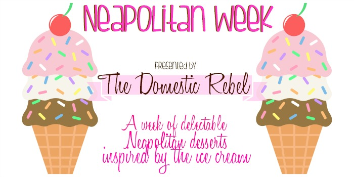 the domestic rebel neapolitan week graphic