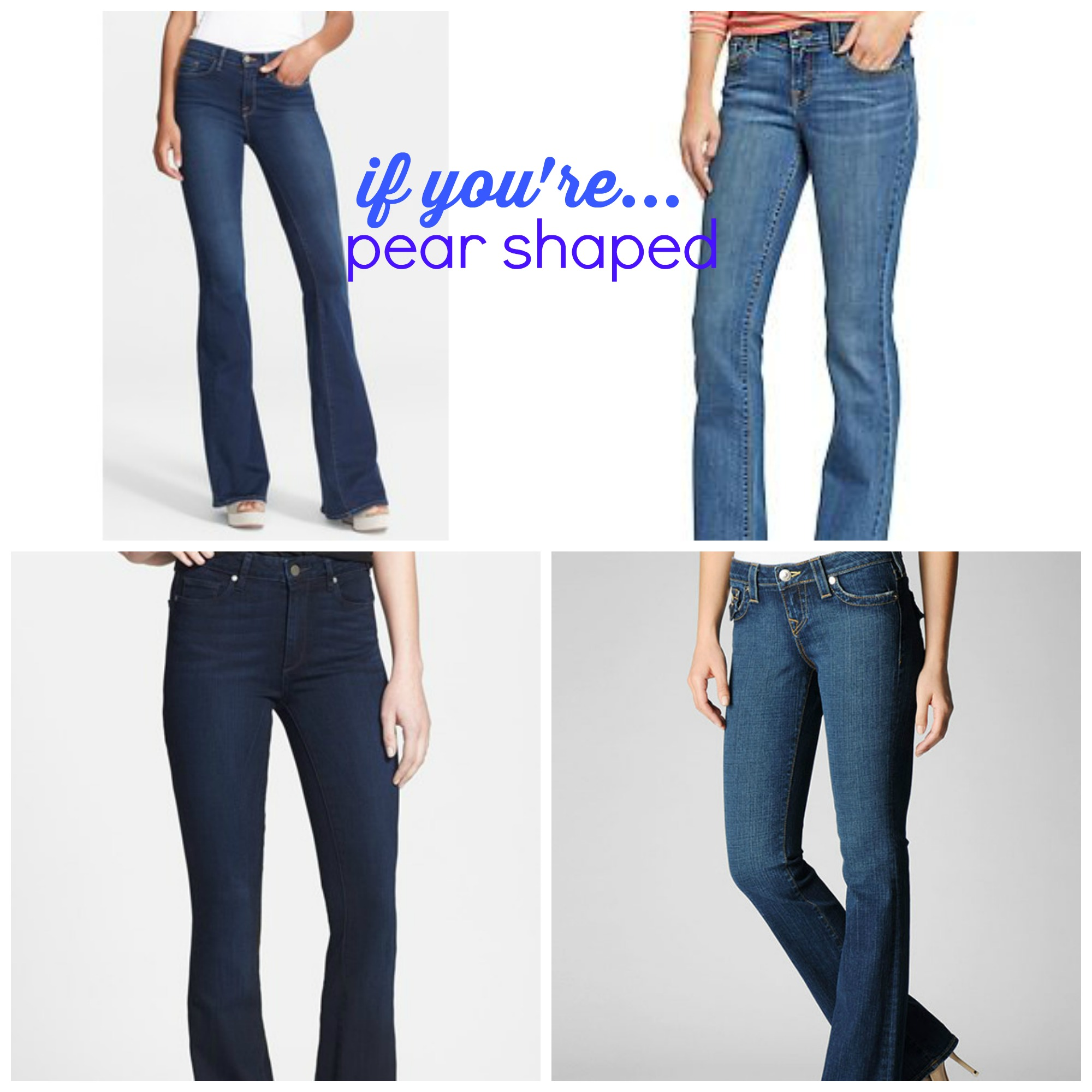 Fashion Fridays: The BEST Jeans For Your Body!