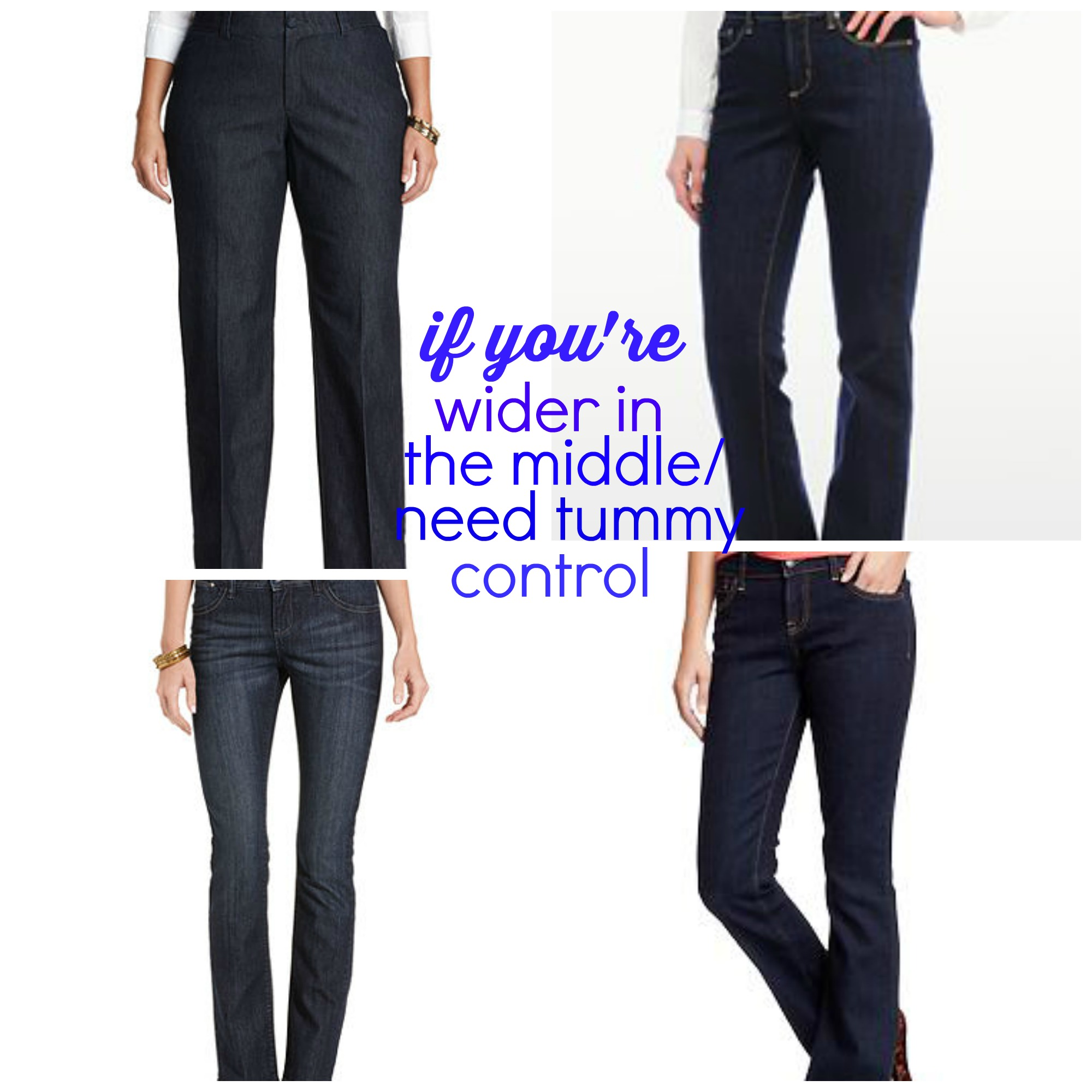 Tummy Control Jeans That Give You a Flat Stomach