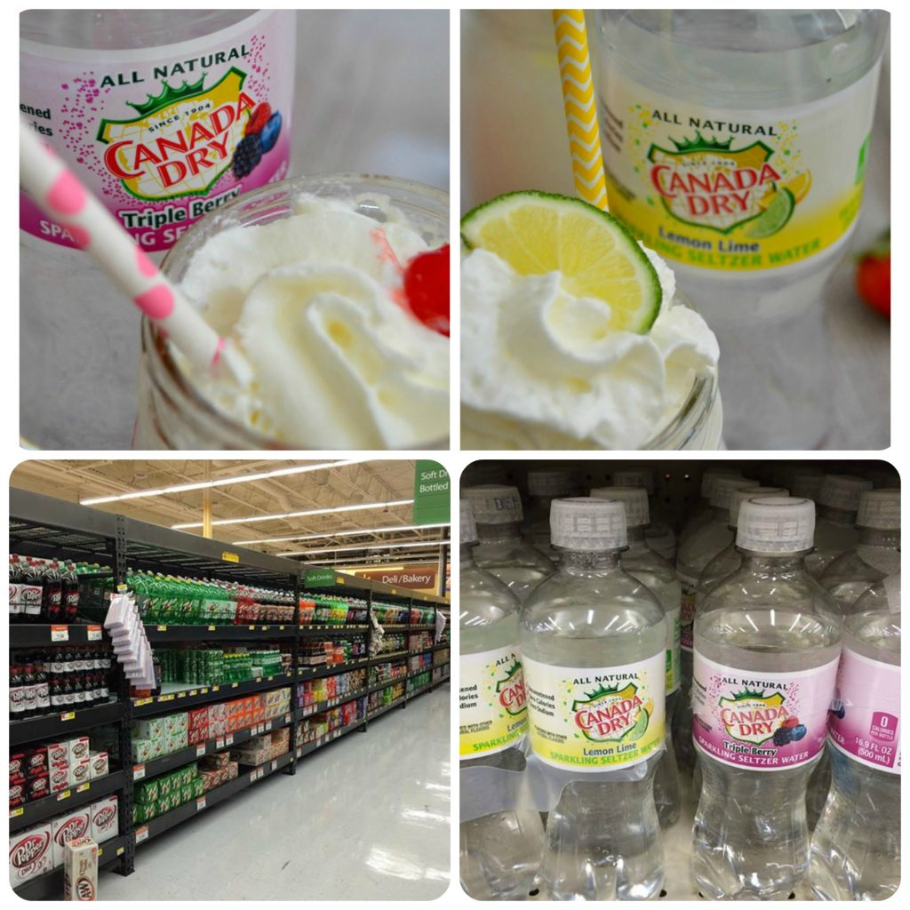 sparkling italian creme sodas recipe and photos of canada dry sparkling seltzer water in grocery store