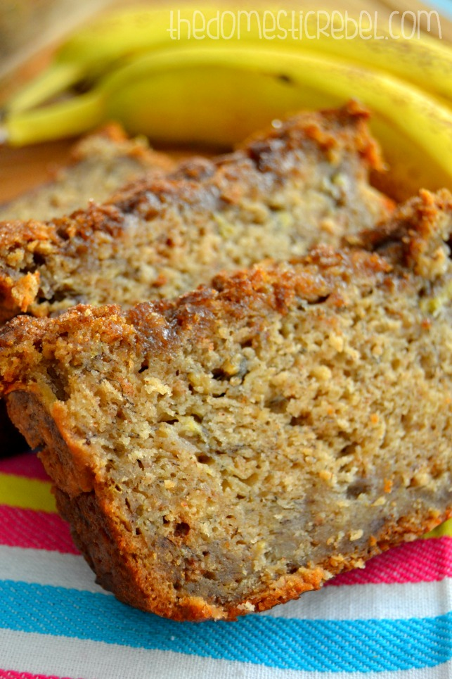 The Best Banana Bread The Domestic Rebel